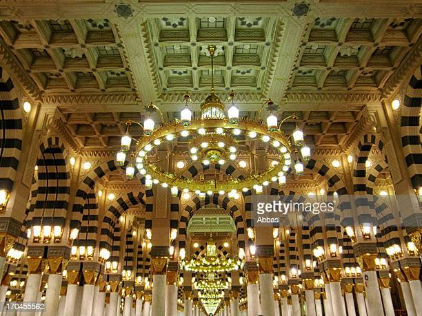 masjid al nabawi artwork - al masjid al nabawi stock pictures, royalty-free photos & images