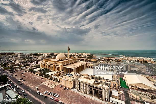 Masjid Alkabeer The Biggest Masjid in Kuwait HDR