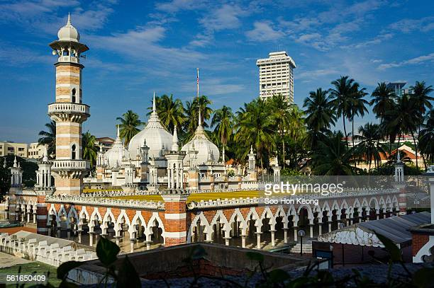 masjid jamek of kuala lumpur, malaysia - kuala lumpur stock pictures, royalty-free photos & images