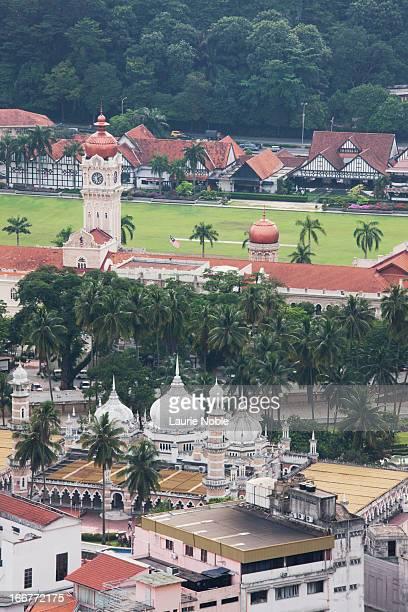Masjid Jamek, Sultan Abdul Samad and Meredeka Sq