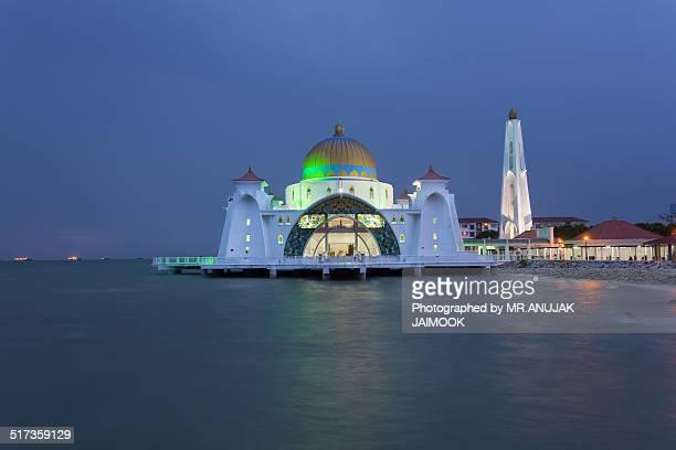 Masjid Selat @ Melaka, Malaysia