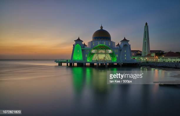 Masjid Selat Melaka - (Malacca Straits Mosque)