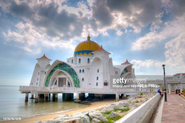 Masjid Selat Melaka (Straits of Malacca Mosque)