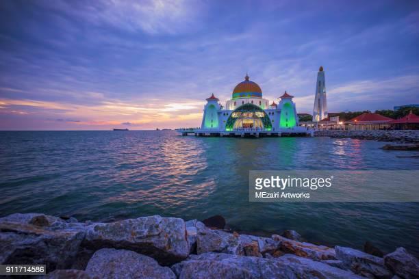 Masjid Selat Melaka (Melaka Straits Mosque)