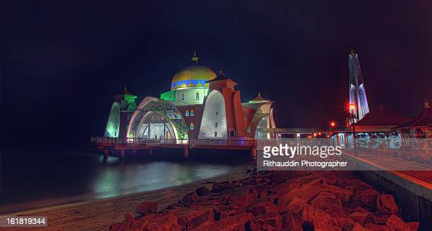 Masjid Selat Melaka side view
