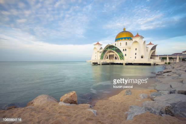 Masjid Selat mosque ( Malacca straits mosque ) in Malacca , Malaysia
