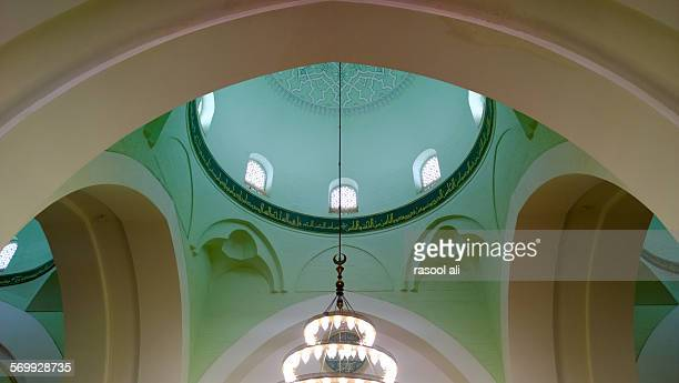 masjid two qiblas - muhammad prophet stock photos and pictures