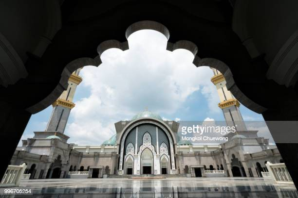Masjid Wilayah Persekutuan or Mosque Wilayah at Kuala Lumpur Malaysia