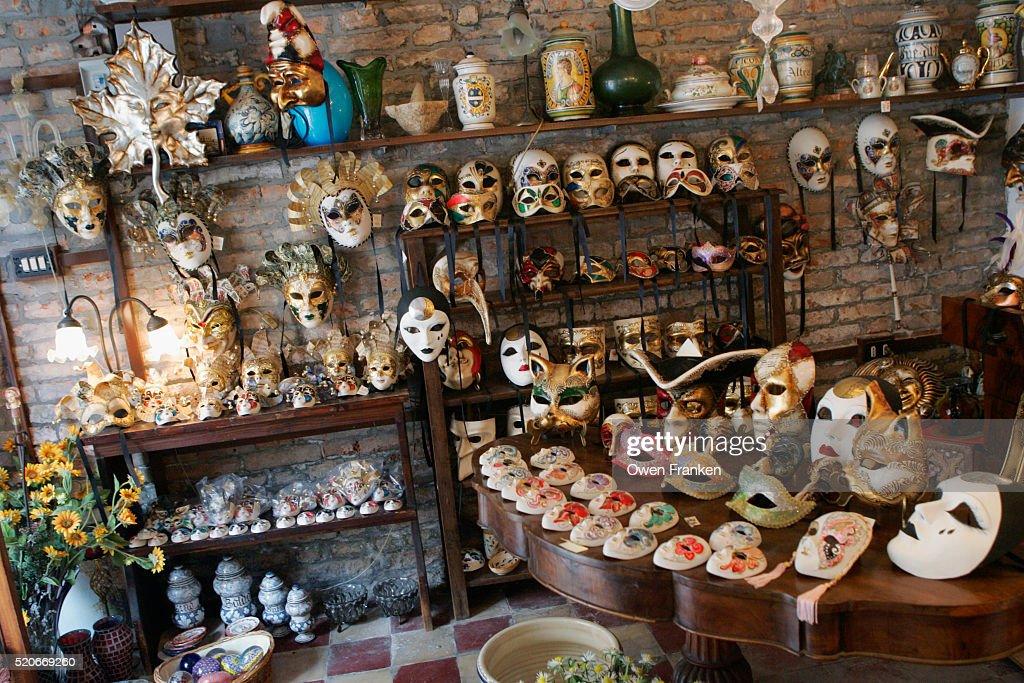 Mask And Antique Shop At Campo San Giovanni E Paolo Venice ...