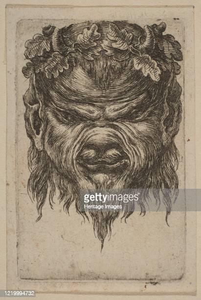Mask Artist Attributed to Stefano della Bella