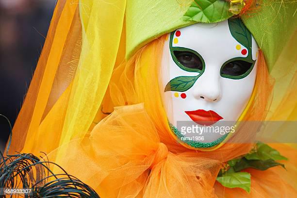 2012 maschera di carnevale di venezia - maschere veneziane foto e immagini stock