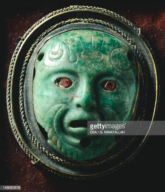 Mask from Mexico Aztec Civilization 15th Century Florence Museo Archeologico Nazionale