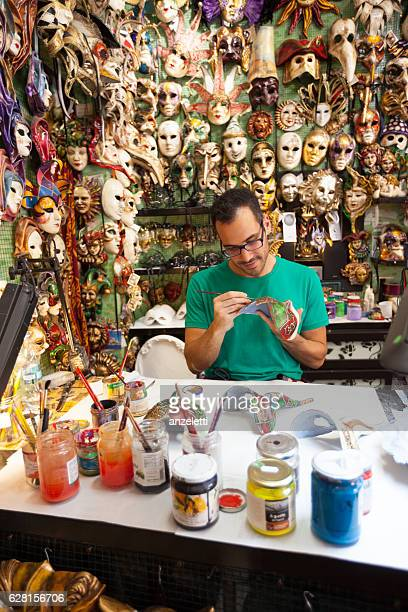 Mask maker in Venice