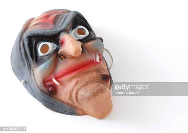 mask - ugly witches stock photos and pictures