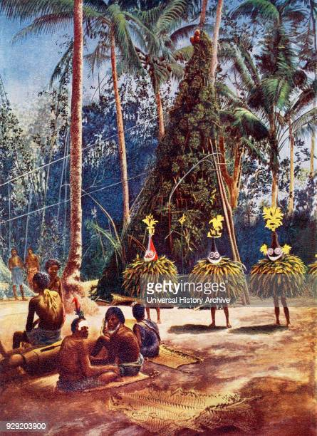 A masked dancer of a DukDuk secret society The DukDuk was embedded in the beliefs of the Tolai peoples in the Rabaul area of New Britain the largest...