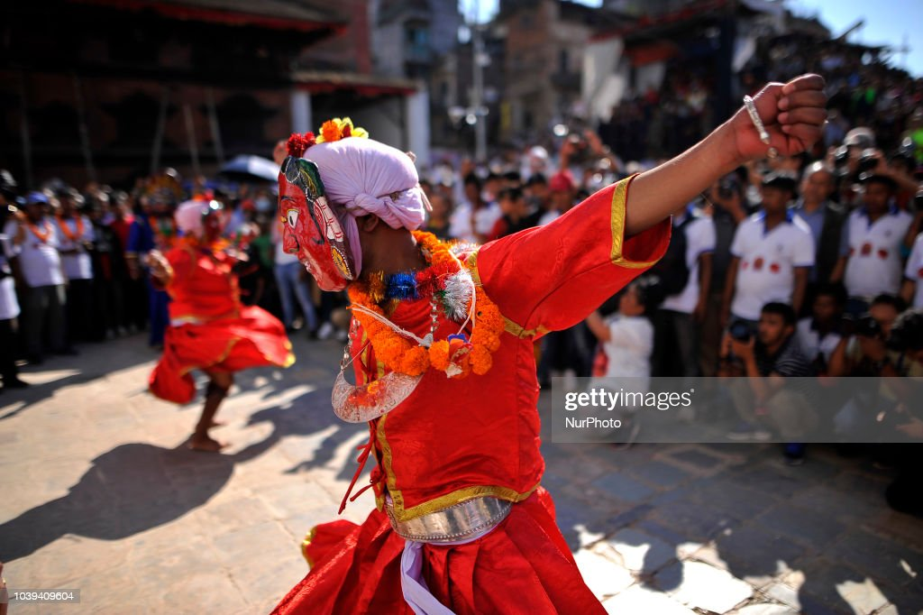 Indra Jatra Festival Celebrated In Nepal