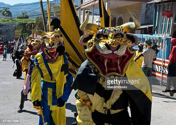 Masked Hungry lions