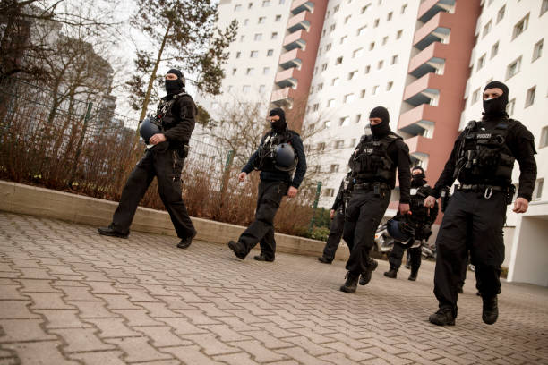 DEU: Police Raid Suspected Islamist Organization Jama'atu Berlin