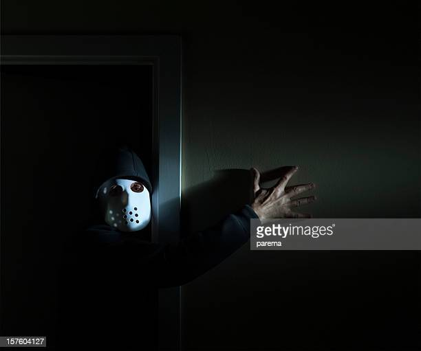 masked psychopath - insanity stock pictures, royalty-free photos & images