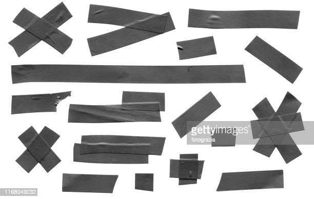 masking tape collection - adhesive tape stock pictures, royalty-free photos & images