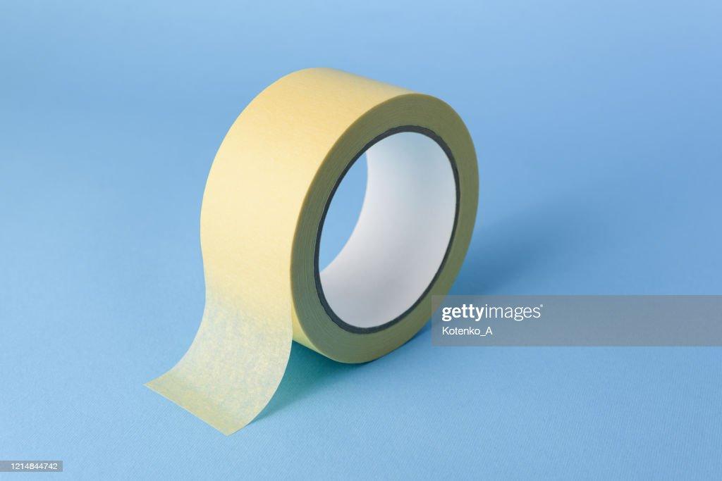 Masking tape (painter's tape) : Stock Photo