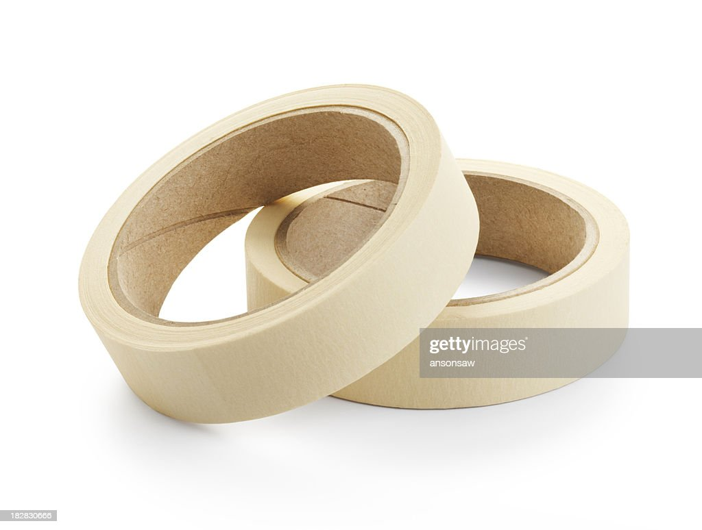masking tape : Stock Photo