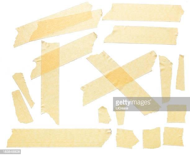 Grunge Abdeckband Stücke