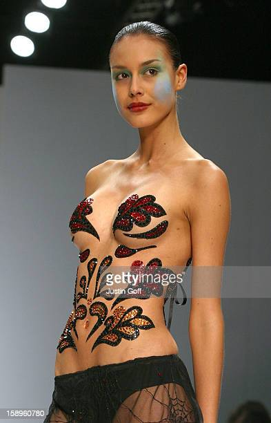 J Maskrey Show During London Fashion Week