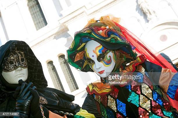 Masks at Carnival 2013 San Zacharias, Venice, Italy