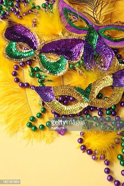 Masks on Yellow