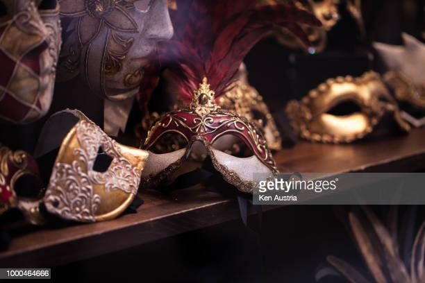 masks - masquerade mask stock photos and pictures