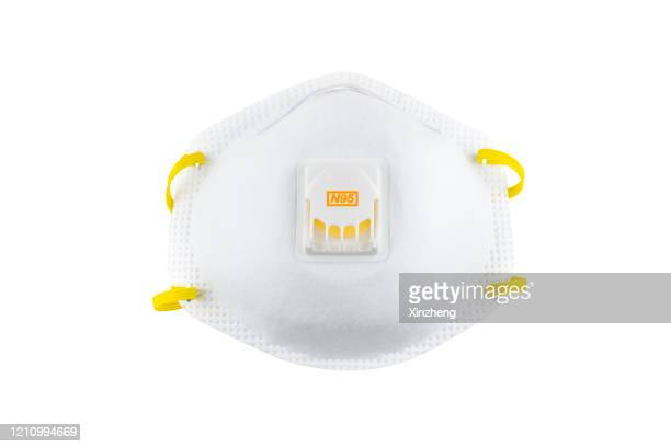 n95 masks - respirator mask stock pictures, royalty-free photos & images