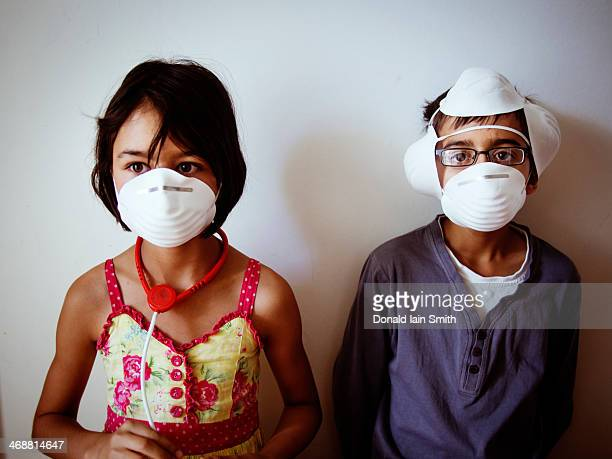 masks - funny surgical mask stock pictures, royalty-free photos & images