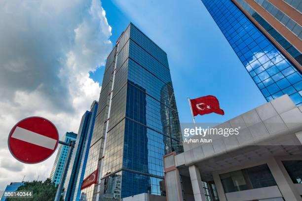 Maslak Business District of Istanbul,Turkey