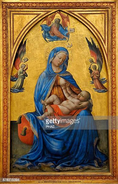 Masolino da Panicale Italian painter Renaissance Madonna with Child Alte Pinakothek Munich Germany