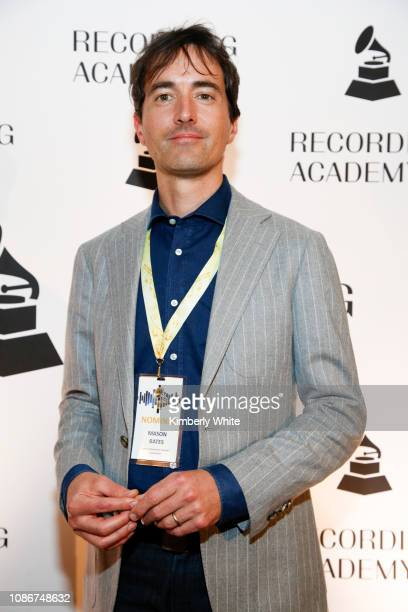 Mason Bates attends the SF Chapter GRAMMY Nominee Celebration on January 22 2019 in San Francisco California