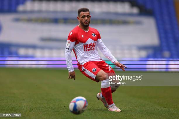 Mason Bennett of Millwall during the Sky Bet Championship match between Coventry City and Millwall at St Andrew's Trillion Trophy Stadium on May 8,...
