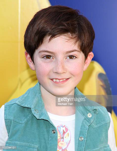 Mason Cook arrives at Los Angeles premiere of The Lion King 3D held at the El Capitan Theatre on August 27 2011 in Hollywood California