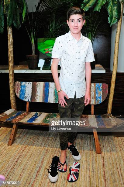Mason Cook attends Kari Feinstein's Style Lounge presented by Ocean Spray on September 15 2017 in Los Angeles California