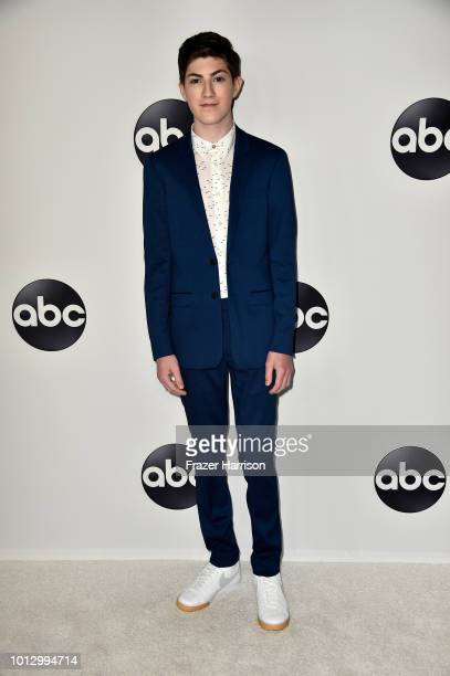 Mason Cook attends the Disney ABC Television TCA Summer Press Tour at The Beverly Hilton Hotel on August 7 2018 in Beverly Hills California
