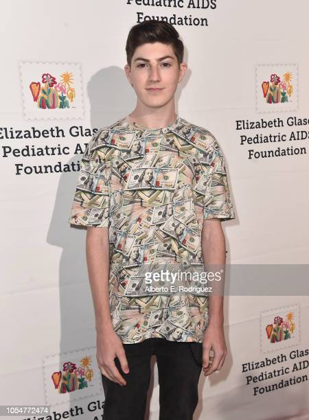 Mason Cook attends the Elizabeth Glaser Pediatric Aids Foundation's 30th Anniversary A Time For Heroes Family Festival at Smashbox Studios on October...