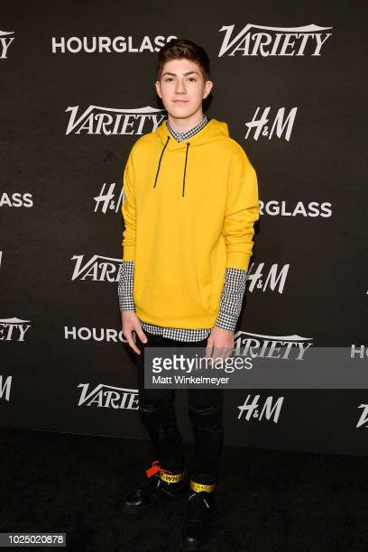Mason Cook attends Variety's Annual Power of Young Hollywood at Sunset Tower Hotel on August 28 2018 in West Hollywood California