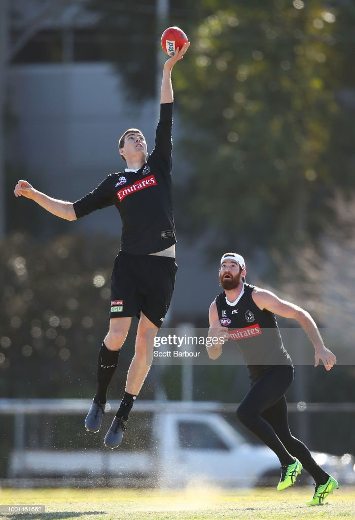 Collingwood Training Session