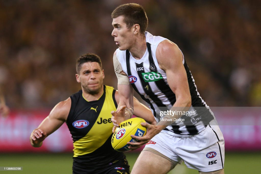 AFL Rd 2 - Richmond v Collingwood : News Photo