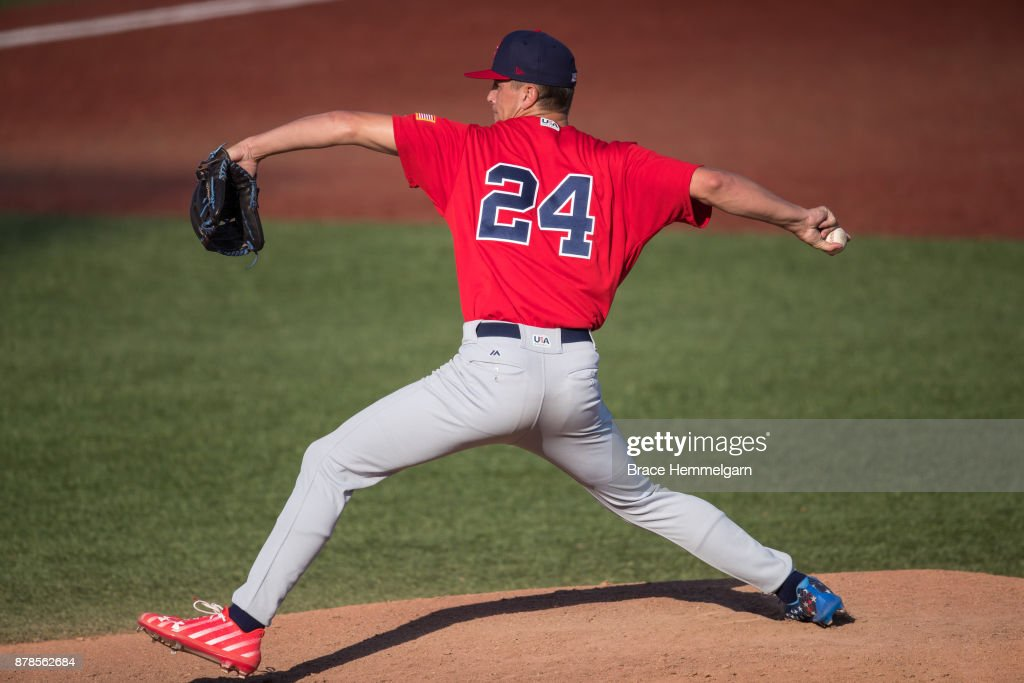 USA Baseball 18U National Team Trials : News Photo