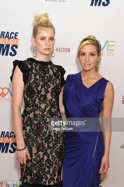 Mason Grammer and Camille Grammer attend the 26th Annual Race to Erase MS Gala at The Beverly Hilton Hotel on May 10 2019 in Beverly Hills California