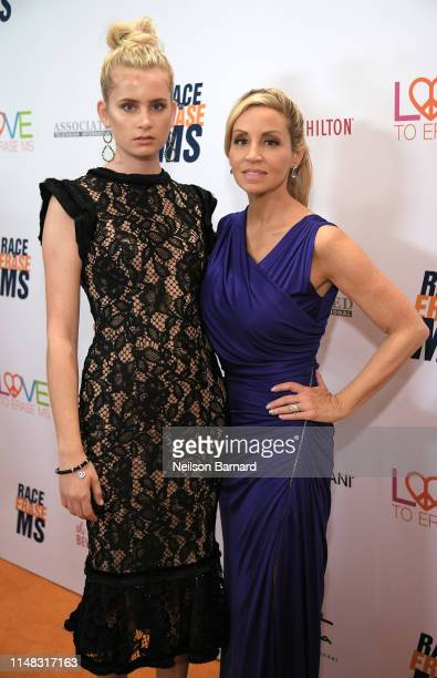 Mason Grammer and Camille Grammer attend the 26th annual Race to Erase MS on May 10 2019 in Beverly Hills California