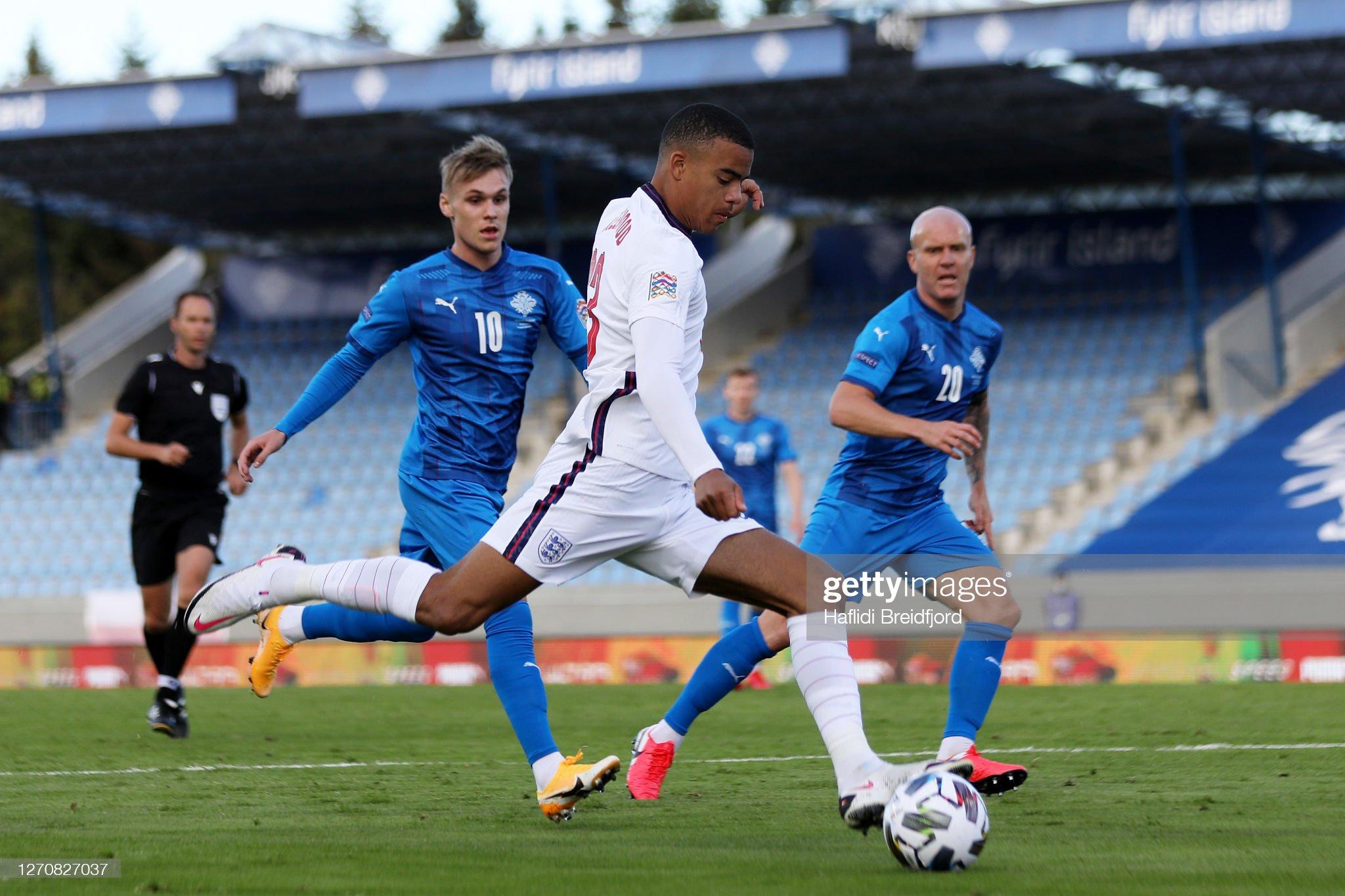 Iceland v England - UEFA Nations League : News Photo