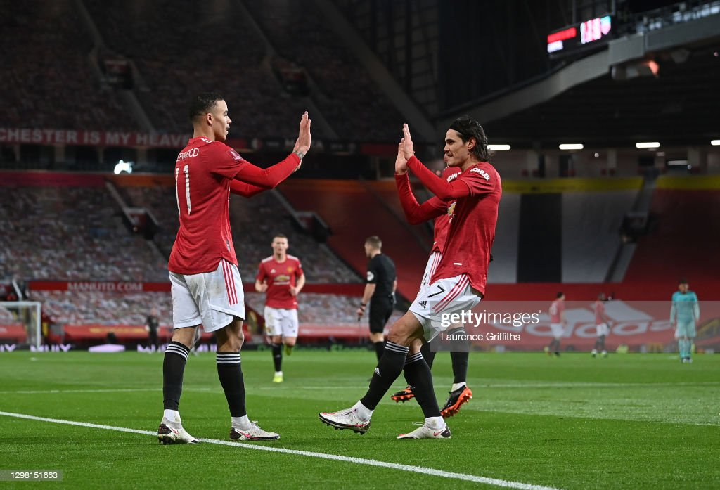 Manchester United v Liverpool: The Emirates FA Cup Fourth Round : News Photo