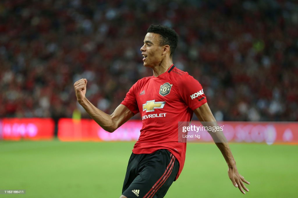 Manchester United v FC Internazionale - 2019 International Champions Cup : News Photo